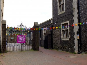 Biggin Hall Bunting